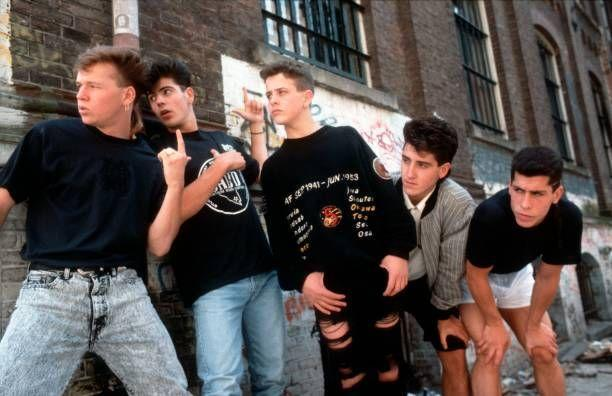 """<p>NKOTB, as they began calling themselves, were still going strong. The group scored its first #1 hit on the charts with the ballad <a href=""""https://www.amazon.com/Ill-Be-Loving-You-Forever/dp/B001DE296A/?tag=syn-yahoo-20&ascsubtag=%5Bartid%7C10055.g.33861456%5Bsrc%7Cyahoo-us"""" rel=""""nofollow noopener"""" target=""""_blank"""" data-ylk=""""slk:""""I'll Be Loving You (Forever)."""""""" class=""""link rapid-noclick-resp"""">""""I'll Be Loving You (Forever).""""</a></p>"""