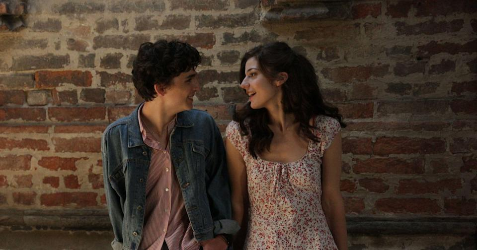 Marzia and Elio in Call Me By Your Name (Sony)