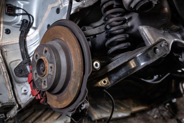 flooded car problems - corroded car parts