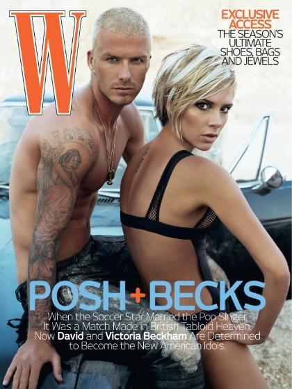 <p>These days, Victoria Beckham is rarely seen in anything apart from a slick trouser suit or respectable midi dress. But a decade ago, the then-singer was happy to pose in her lingerie, atop a car, with husband David. How times change, eh? </p>