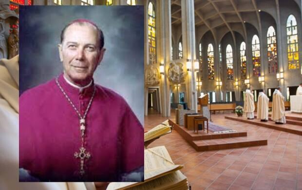 A B.C. man alleges that Archbishop Emeritus Adam Exner is variously liable for abuse he suffered at the Seminary of Christ the King in Mission. (Archdiocese of Vancouver/WestminsterAbbey.ca - image credit)