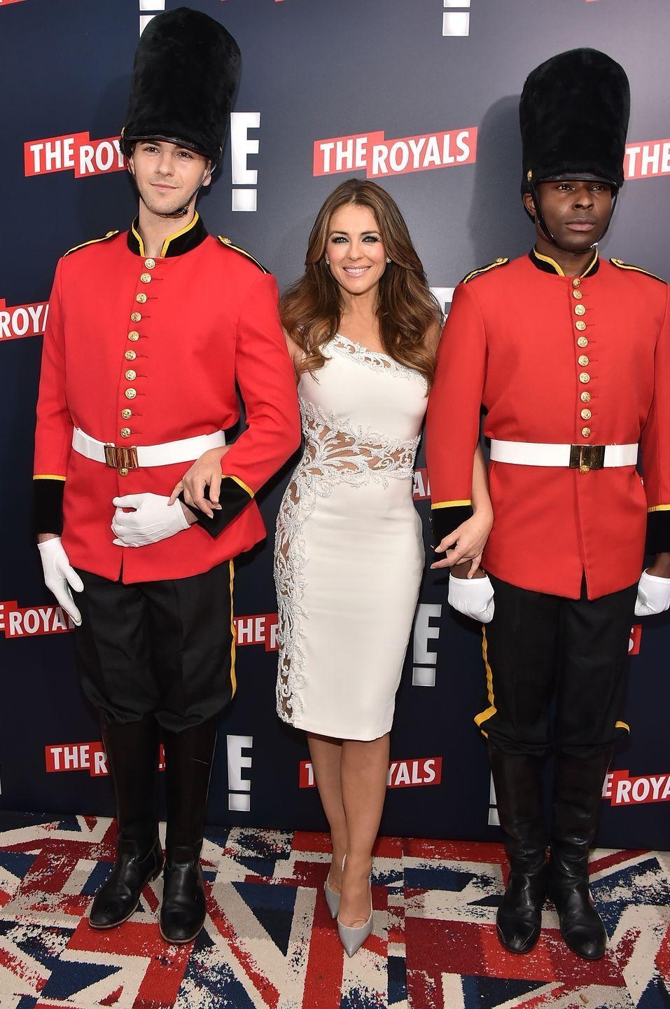 <p>In 2015, Elizabeth started her stint as Queen Helena on the E! soap opera <em>The Royals</em>. The series was on the air for four seasons, but was sadly cancelled in 2018.</p>