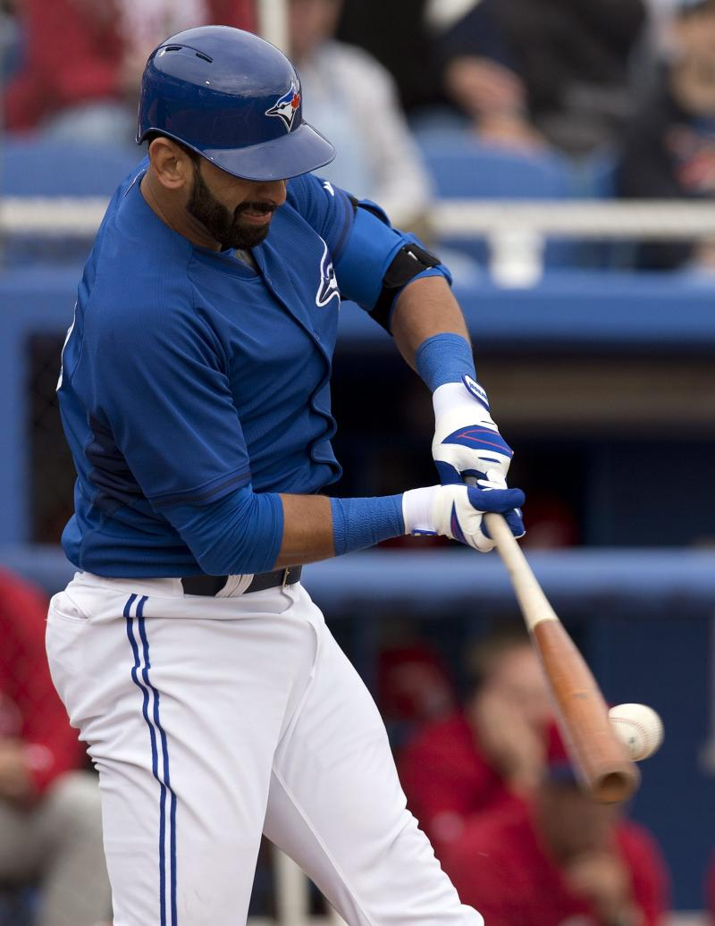 Bautista strikes again, Blue Jays beat Phillies