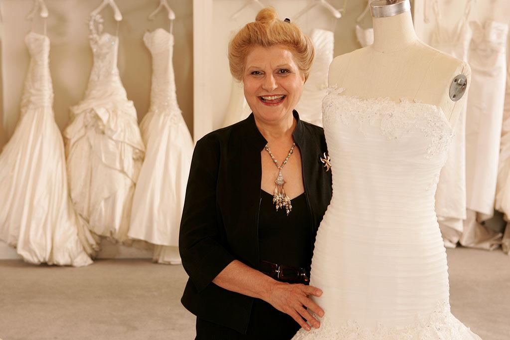 """Vera, alterations manager at Kleinfeld Bridal, on """"Say Yes to the Dress."""""""