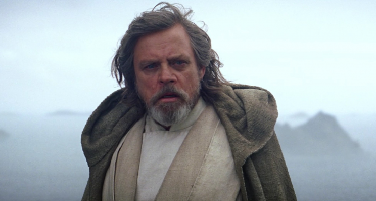 Mark Hamill as Luke Skywalker in 'Star Wars: The Force Awakens.'