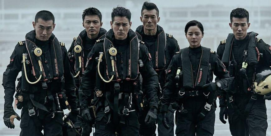 """Eddie Peng, Wang Yanlin and Xin Zhilei star in """"The Rescue"""". (Photo: China Modern Film and Television Development)"""