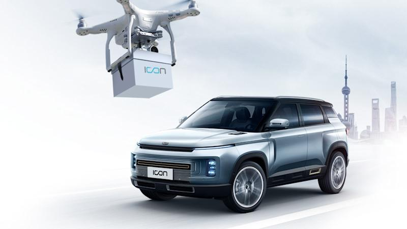Geely Auto delivers new car keys by drone to avoid contact