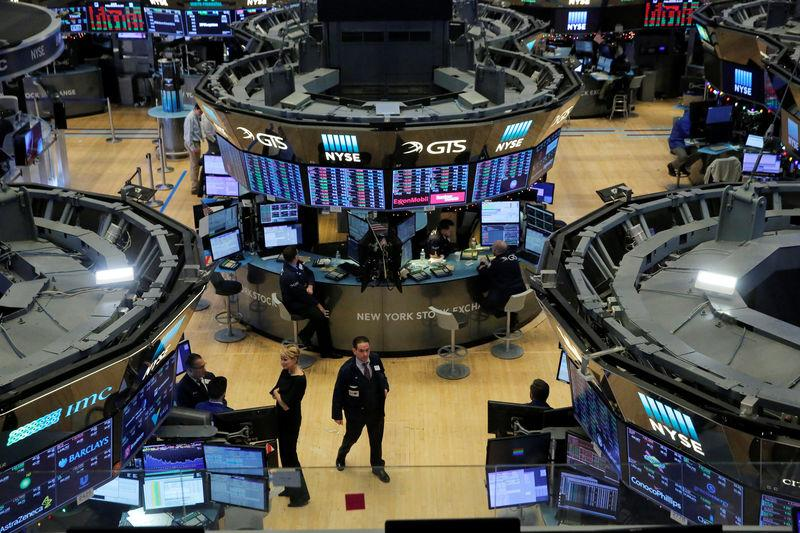 The trading floor is seen on the final day of trading for the year at the New York Stock Exchange (NYSE) in Manhattan, New York