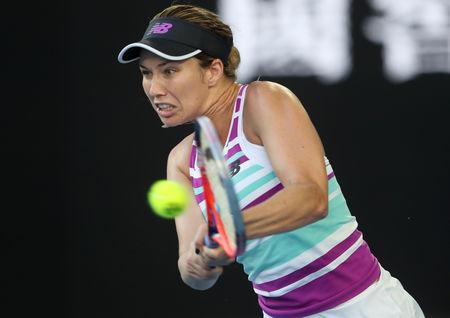 AO: Danielle Collins is on fire and bringing the chills to Melbourne