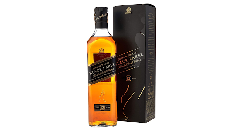Whisky Johnnie Walker 12 anos Black Label 750ml