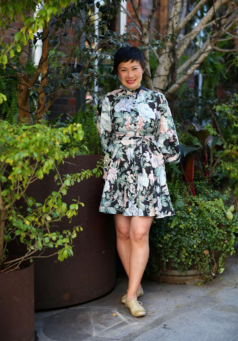 Poh told Yahoo Lifestyle of her MasterChef aspirations at the Harris Scarfe Spring Summer 2019 Season Launch on Monday. Photo: Getty Images