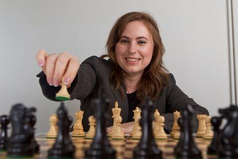 <span>Judit Polgar is considered the best female chess player of all time</span> <span>Credit: HEATHCLIFF O'MALLEY </span>
