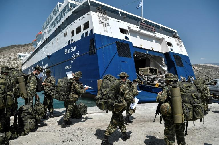 Turkey launches new military drills as East Med tensions mount