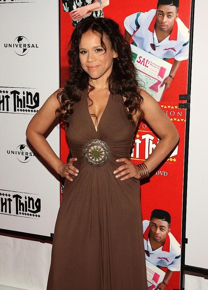 "<a href=""http://movies.yahoo.com/movie/contributor/1800019473"">Rosie Perez</a> at the 20th Anniversary screening of <a href=""http://movies.yahoo.com/movie/1800057997/info"">Do The Right Thing</a> - 06/29/2009"
