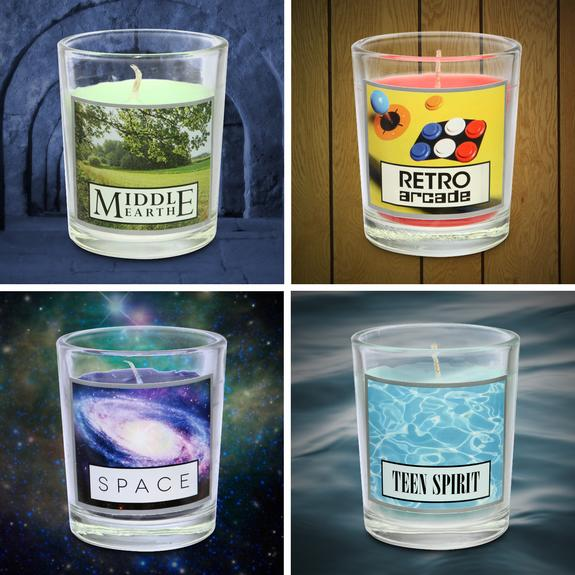 The nerdy toy makers at ThinkGeek used input from NASA scientists to create a candle that smells like space.