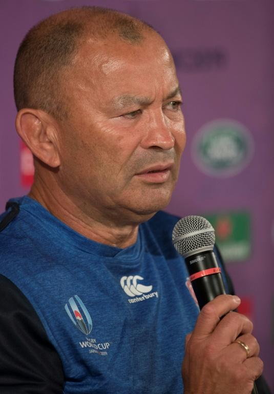 England head coach Eddie Jones told a press conference the team had settled in well at their training camp in Japan (AFP Photo/Behrouz MEHRI)