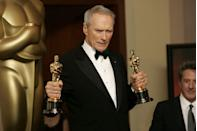 <p>Clint Eastwood made his directorial debut in 1971 on the film <em>Play Misty for Me</em>. Fifty years later, Eastwood has directed more than 40 films, though he has not appeared in all of them. Of the films he has both directed and starred in, he brought home two Academy Awards for the 2004 film, <em>Million Dollar Baby</em>.</p>