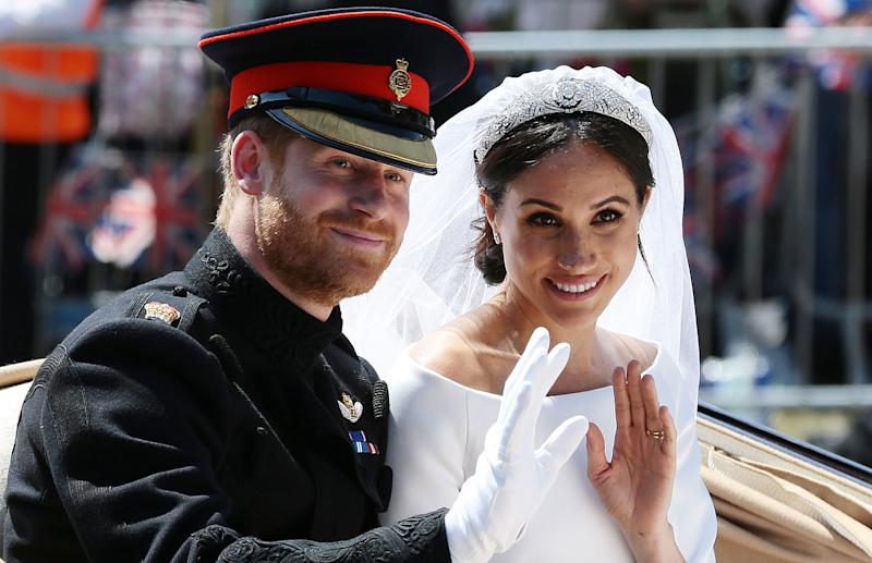 Harry and Meghan stepped down in a controversial position. Photo: Getty Images