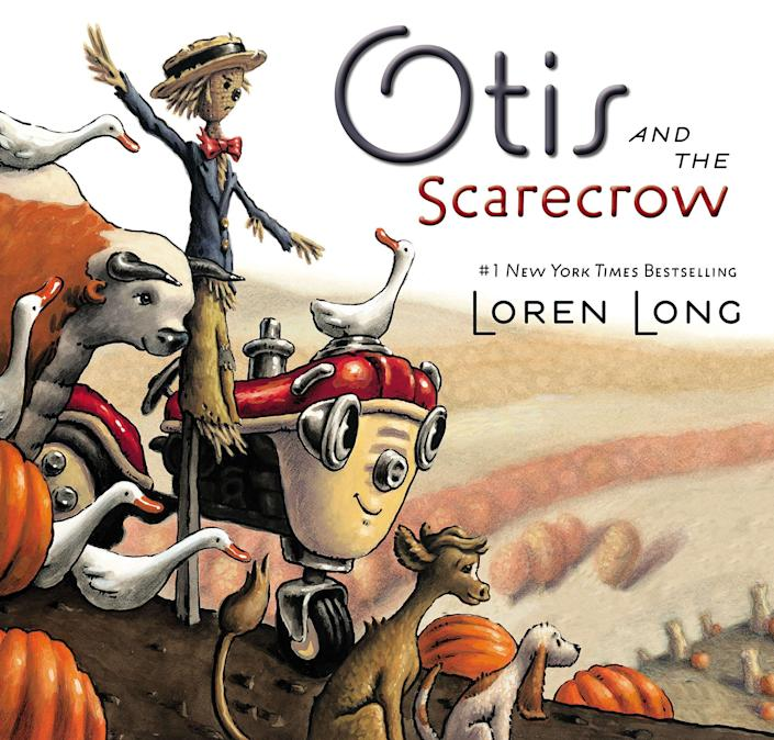 """Otis and the Scarecrow"" includes messages about standing up for people and showing compassion. <i>(Available <a href=""https://www.amazon.com/Otis-Scarecrow-Loren-Long/dp/0399163964"" rel=""nofollow noopener"" target=""_blank"" data-ylk=""slk:here"" class=""link rapid-noclick-resp"">here</a>)</i>"