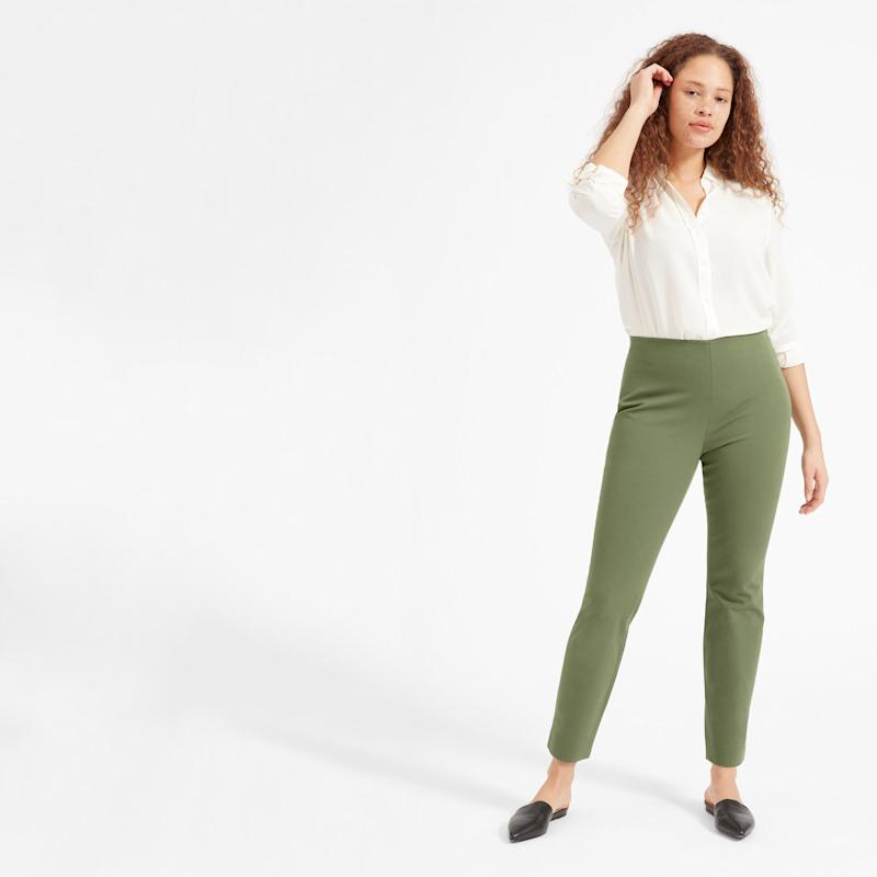 The Side-Zip Work Pant