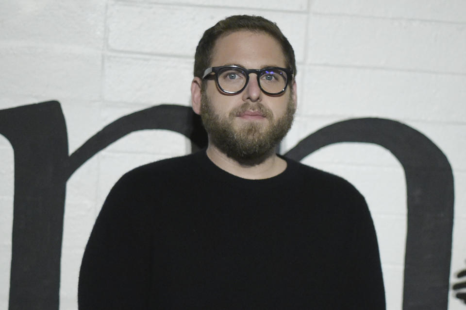 Jonah Hill attends a special screening of