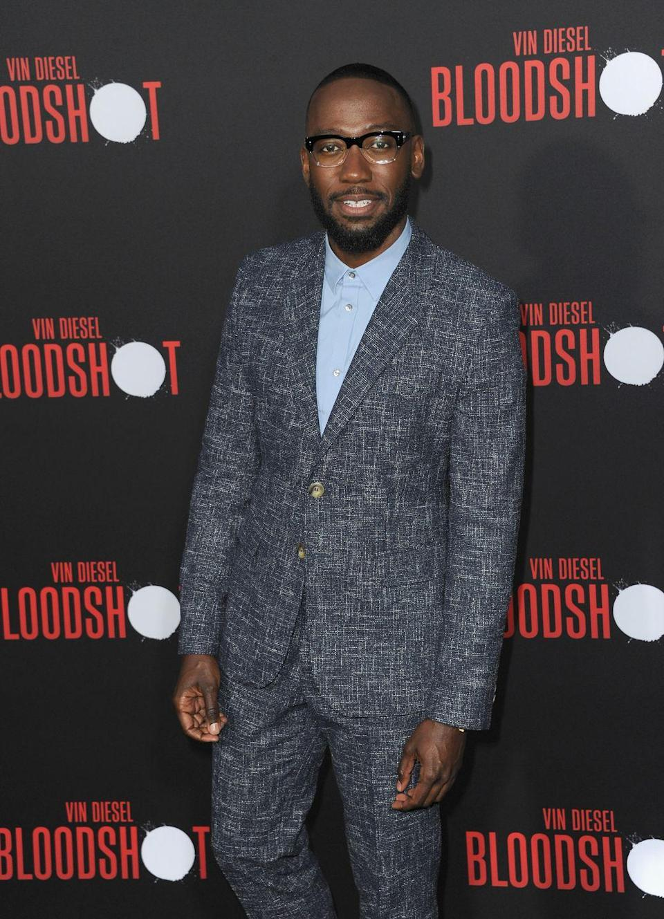 """<p>The <em>New Girl</em> star might be making jokes for a living, but his home workout is all business. """"Make sure when you're at home, use this time to keep your body active, and keep your mind even more active,"""" he told <em><a href=""""https://www.menshealth.com/fitness/a32868489/lamorne-morris-home-workout/"""" rel=""""nofollow noopener"""" target=""""_blank"""" data-ylk=""""slk:Men's Health"""" class=""""link rapid-noclick-resp"""">Men's Health</a></em>. </p><p><a class=""""link rapid-noclick-resp"""" href=""""https://www.youtube.com/watch?v=jCjEF3X3bzs&t=28s"""" rel=""""nofollow noopener"""" target=""""_blank"""" data-ylk=""""slk:Watch here"""">Watch here</a></p>"""