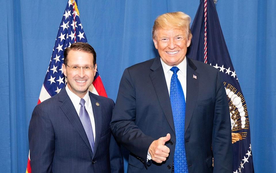 U.S. Attorney Michael Dunavant with President Donald Trump, who appointed him. (Photo: Shealah Craighead/White House Photo via Twitter)