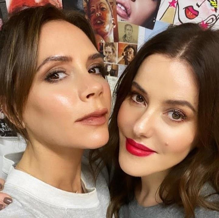 "Pop star turned fashion and beauty mogul Victoria Beckham teamed up with celebrated makeup artist Lisa Eldridge <a href=""https://www.allure.com/story/victoria-beckham-fuller-lips-liner-trick?mbid=synd_yahoo_rss"">for a video</a> in which they did their makeup for a Christmas party, and while one went with a nude lip and one went with a red one, both looks are perfect for any social soirée — any time of year."