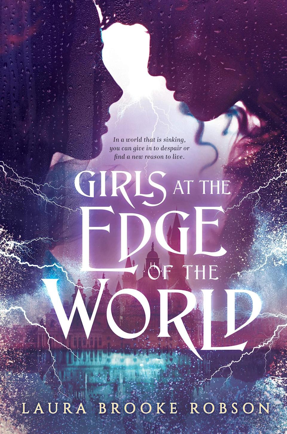 <p>An apocalyptic flood forms the backdrop for Laura Brooke Robson's inventive fantasy novel <span><strong>Girls at the Edge of the World</strong></span>. With the waters rising, Natasha Koskinen will do whatever it takes to save her troupe of aerial silk performers including courting a royal. But when her newest recruit's quest for revenge threatens everyone's safety, Natasha will be forced to reevaluate her plan and everything she thought she knew about herself. </p> <p><em>Out June 8</em></p>