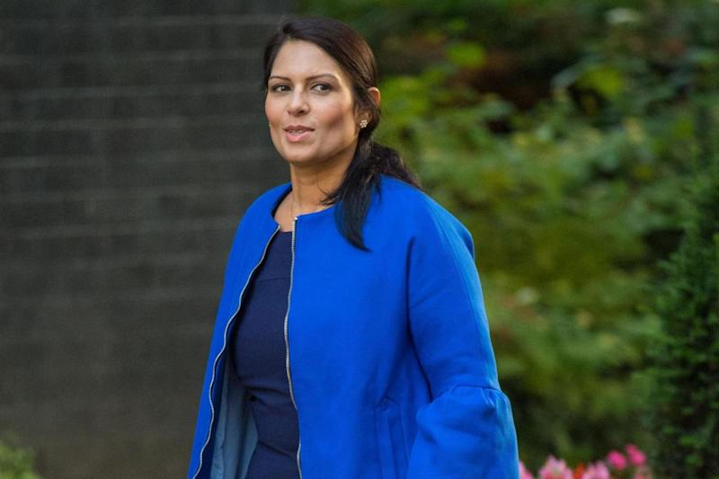 Former cabinet minister Priti Patel called it a 'national humiliation' (PA)