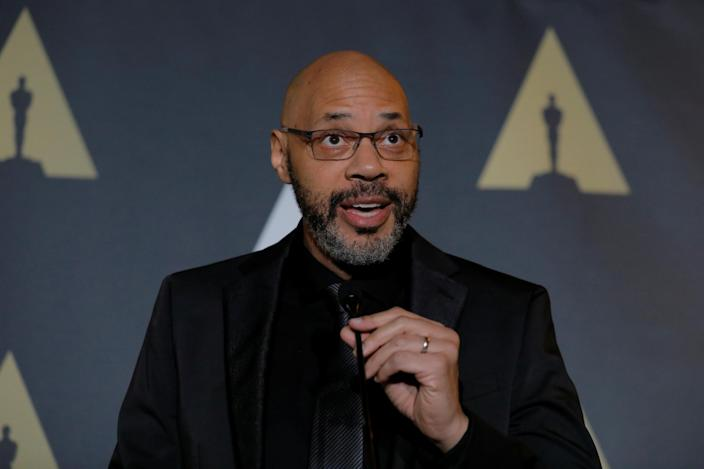 John Ridley speaks at a reception for nominated foreign film directors before the 89th Academy Awards in Hollywood, Los Angeles, California, U.S., February 24, 2017. REUTERS/Lucas Jackson