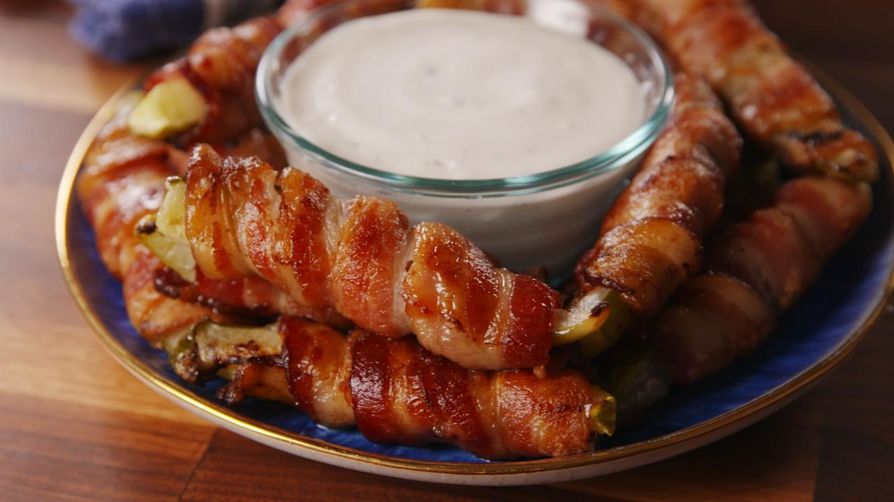 """<p>Crispy, salty and fatty, bacon is the ultimate ingredient that takes any recipe over the top. It's the perfect addition to any meal, whether you're cooking up a few strips with breakfast, making <a href=""""/cooking/recipe-ideas/g1391/blt-recipes/"""" target=""""_blank"""">BLT recipes</a> for lunch and dinner, or even sneaking it into <a href=""""/cooking/recipe-ideas/g3246/easy-desserts/"""" target=""""_blank"""">dessert</a>...yeah, we went there.</p>"""
