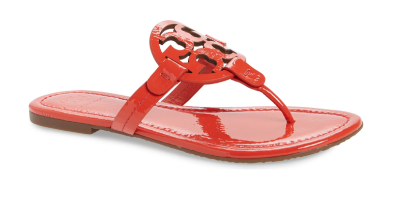 Tory Burch Miller Flip Flop in Bright Samba