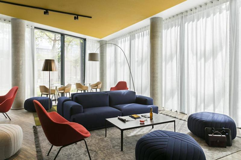 The Porte de Versailles hotel is a half-hour train ride from the Eiffel Tower (Okko Hotels)
