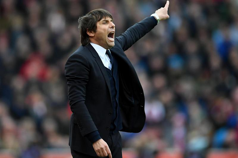In the driving seat: Chelsea manager Antonio Conte: Getty Images