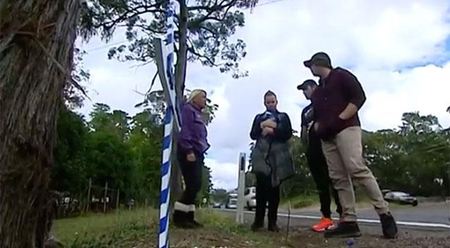 The family of a little boy who was killed in a car accident in Bilpin is appealing for thieves to leave the roadside memorial honouring him alone. Source: 7 News