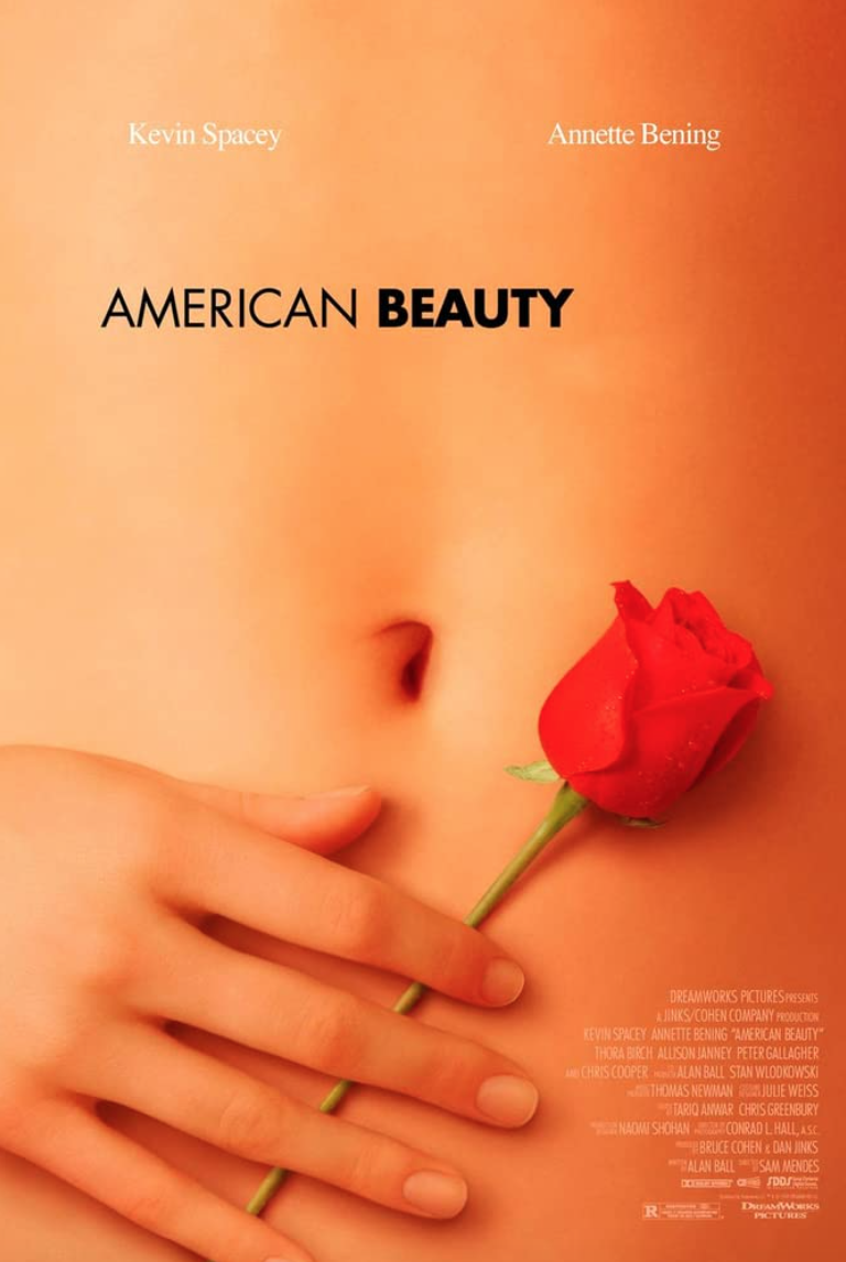 """<p><a href=""""https://time.com/5679039/american-beauty-20th-anniversary/"""" rel=""""nofollow noopener"""" target=""""_blank"""" data-ylk=""""slk:Some critics are still unsure"""" class=""""link rapid-noclick-resp"""">Some critics are still unsure</a> whether or not <em>American Beauty</em> also passes the two-decades-plus smell test. With <a href=""""https://www.nytimes.com/2020/09/09/movies/kevin-spacey-anthony-rapp-lawsuit.html"""" rel=""""nofollow noopener"""" target=""""_blank"""" data-ylk=""""slk:the real-life sexual assault allegations against film star Kevin Spacey"""" class=""""link rapid-noclick-resp"""">the real-life sexual assault allegations against film star Kevin Spacey</a>, many will likely have a hard time watching him in a role in which he lusts after a teenager. But the film is an artful seriocomedy that captures '90s suburban ennui. Spacey aside, the screenplay is still great.</p><p><a class=""""link rapid-noclick-resp"""" href=""""https://www.amazon.com/American-Beauty-Kevin-Spacey/dp/B001F4UHEE/ref=sr_1_2?dchild=1&keywords=American+Beauty+%281999%29&qid=1622131596&s=instant-video&sr=1-2&tag=syn-yahoo-20&ascsubtag=%5Bartid%7C2139.g.36530740%5Bsrc%7Cyahoo-us"""" rel=""""nofollow noopener"""" target=""""_blank"""" data-ylk=""""slk:STREAM IT HERE"""">STREAM IT HERE</a></p>"""