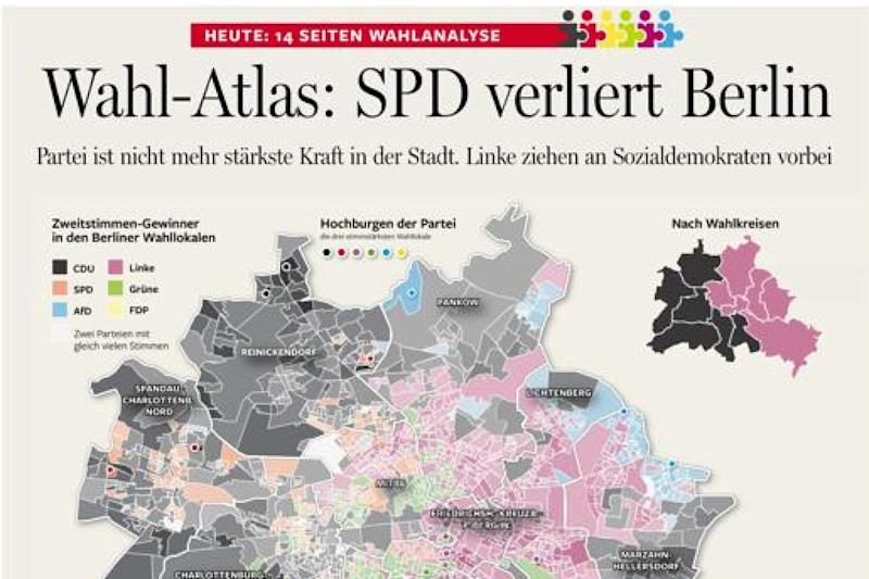 Zeitungsdesign: 13 European Newspaper Awards für die Berliner Morgenpost