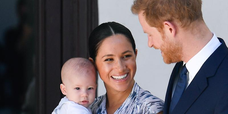 prince harry and meghan markle name non profit after their son archie yahoo news australia