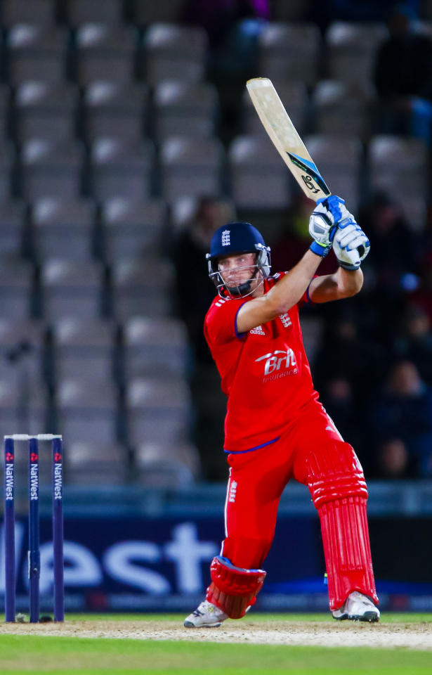 England's Jos Buttler during the Fifth One Day International at the Ageas Bowl, Southampton.