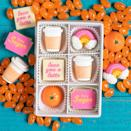 """<p>To eat or not to eat? That is the question with such adorable (and scrumptious!) <a href=""""https://www.maggielouiseconfections.com/collections/gourmet-chocolate-gifts/products/rise-and-shine"""" rel=""""nofollow noopener"""" target=""""_blank"""" data-ylk=""""slk:hand-painted chocolates"""" class=""""link rapid-noclick-resp"""">hand-painted chocolates</a> from Maggie Louise Confections.</p> <p><strong>$32, <a href=""""https://www.maggielouiseconfections.com/collections/gourmet-chocolate-gifts/products/rise-and-shine"""" rel=""""nofollow noopener"""" target=""""_blank"""" data-ylk=""""slk:maggielouiseconfections.com"""" class=""""link rapid-noclick-resp"""">maggielouiseconfections.com</a></strong></p> <p><strong>*Use discount code SWEET20 for 20% off</strong></p>"""
