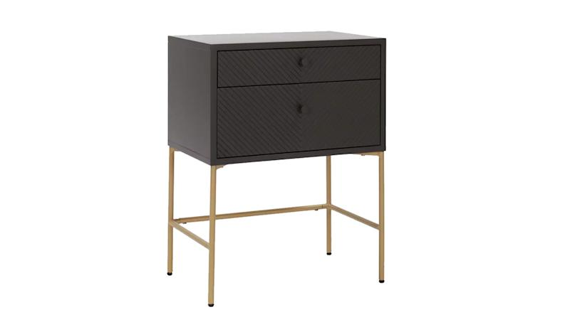 Barcelona 2 Drawer Bedside Table