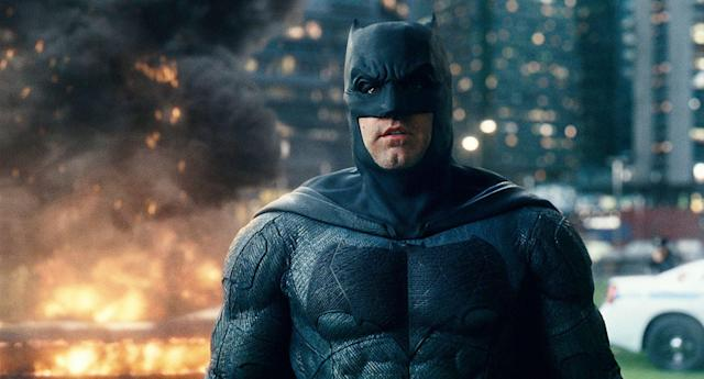 Is this the last we'll see of Ben Affleck as Batman? (Photo: Warner Bros.)