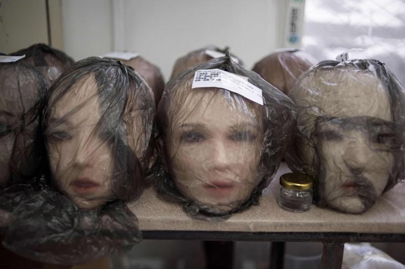 The factory makes 400 custom dolls a month. Photo: Getty