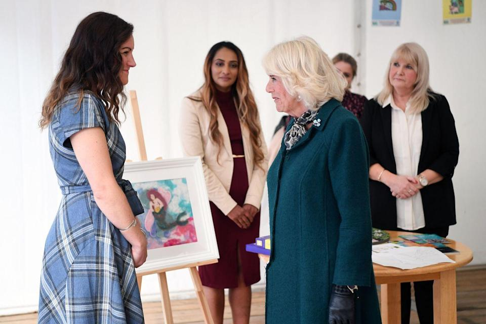 <p>During her visit, the Duchess met with staff, benefactors, and women who have used the organization's services. In recent months, the nonprofit has dealt with many challenges, including an increase in referrals, but has continued to offer support for women around Northern Ireland. </p>