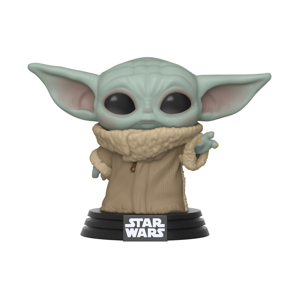 Funko's vinyl collectible is the first in a wave of officially-licensed Baby Yoda merchandise (Photo: Funko)