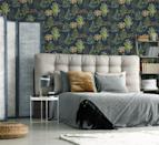 "<p><strong>Botanical Bliss Navy Wallpaper, £40</strong></p><p><a class=""link rapid-noclick-resp"" href=""https://go.redirectingat.com?id=127X1599956&url=https%3A%2F%2Fwww.homebase.co.uk%2Fhouse-beautiful-botanical-bliss-navy-wallpaper%2F12945382.html&sref=https%3A%2F%2Fwww.redonline.co.uk%2Finteriors%2Feasy-to-steal-ideas%2Fg36273018%2Fhomebase-wallpaper%2F"" rel=""nofollow noopener"" target=""_blank"" data-ylk=""slk:BUY NOW"">BUY NOW</a></p>"