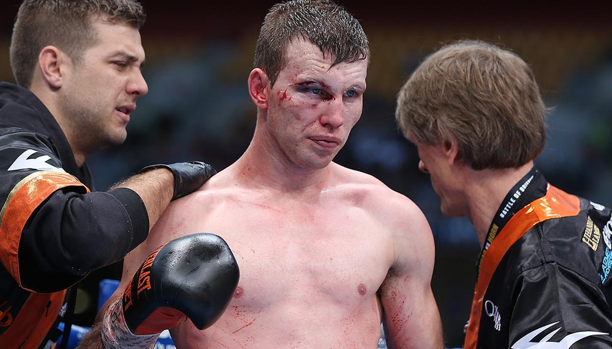 Jeff Horn takes massive dig at boxing rival