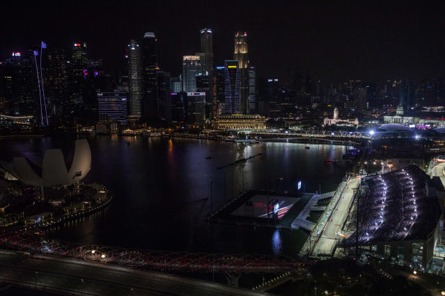 The Singapore Grand Prix could suffer from the effects of pollution (Photo by Will Taylor-Medhurst/Getty Images)