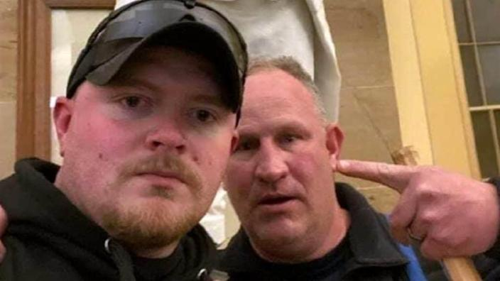 2 Virginia officers charged after allegedly storming Capitol